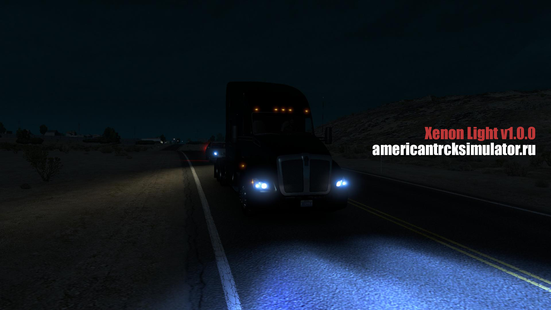 American Truck Simulator Xenon Light v1.0.0