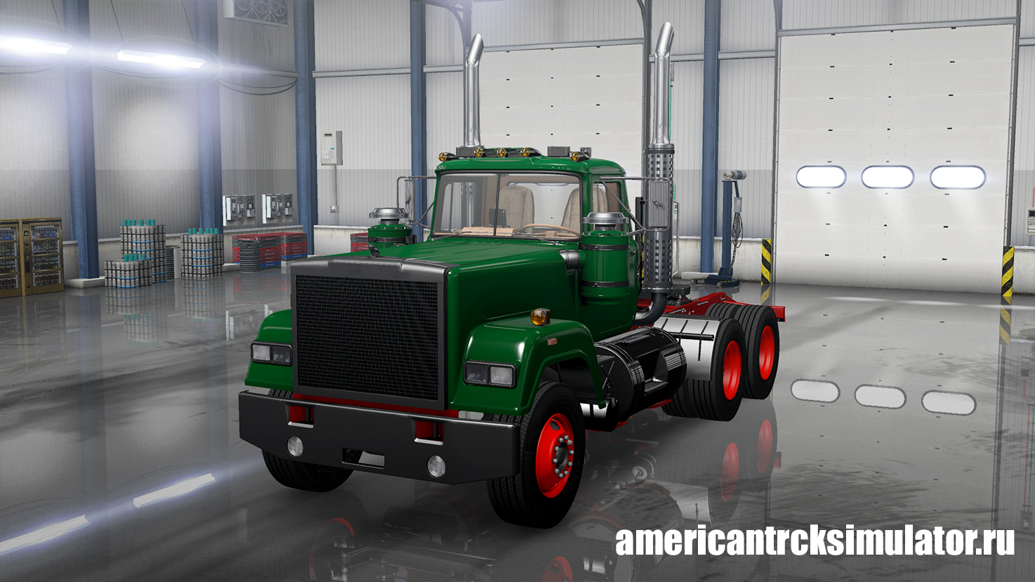 Грузовик Mack Superliner Deluxe v1.0 для ATS