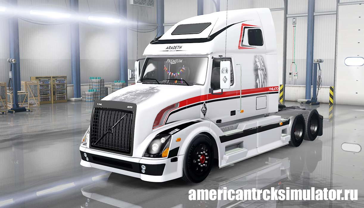 Volvo VNL 670 for ATS v 1.2