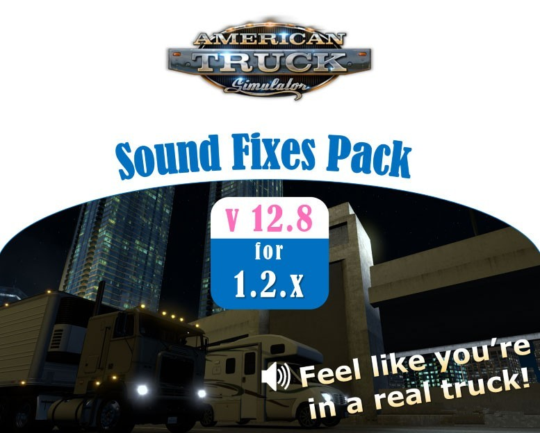 Мод Sound Fixes Pack v12.8