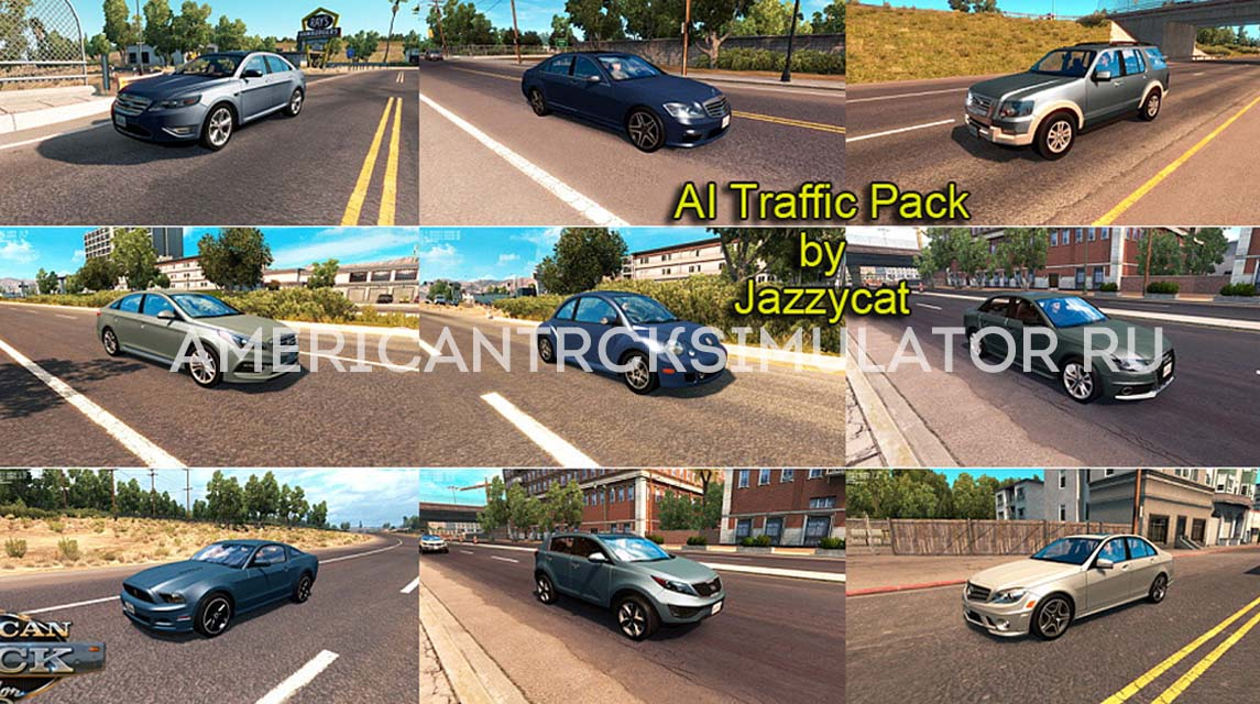 AI Traffic Pack by Jazzycat v1.4