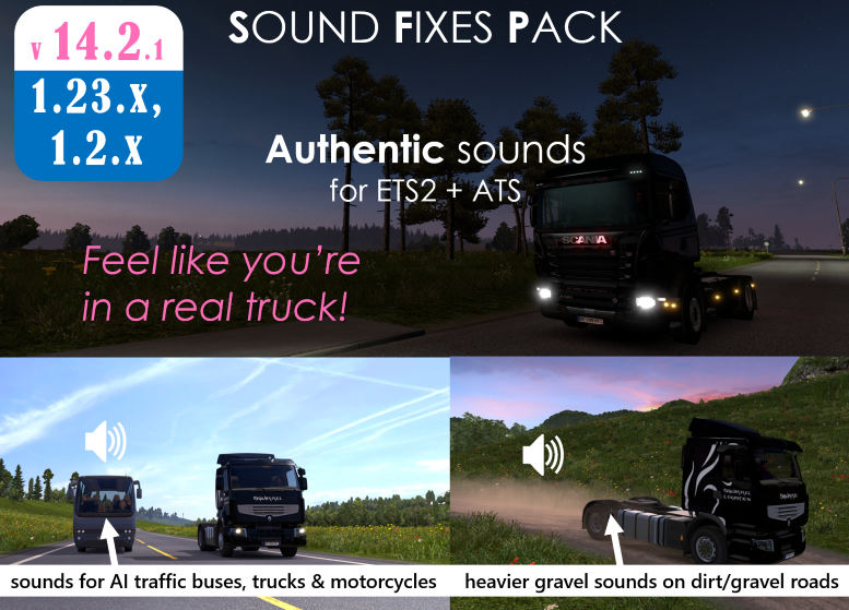 Sound Fixes Pack v14.2.1