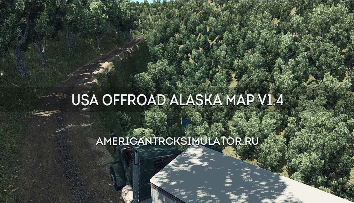 USA Offroad Alaska Map v1.4