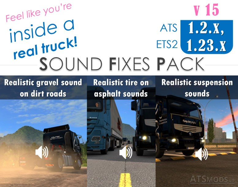 Sound Fixes Pack v15