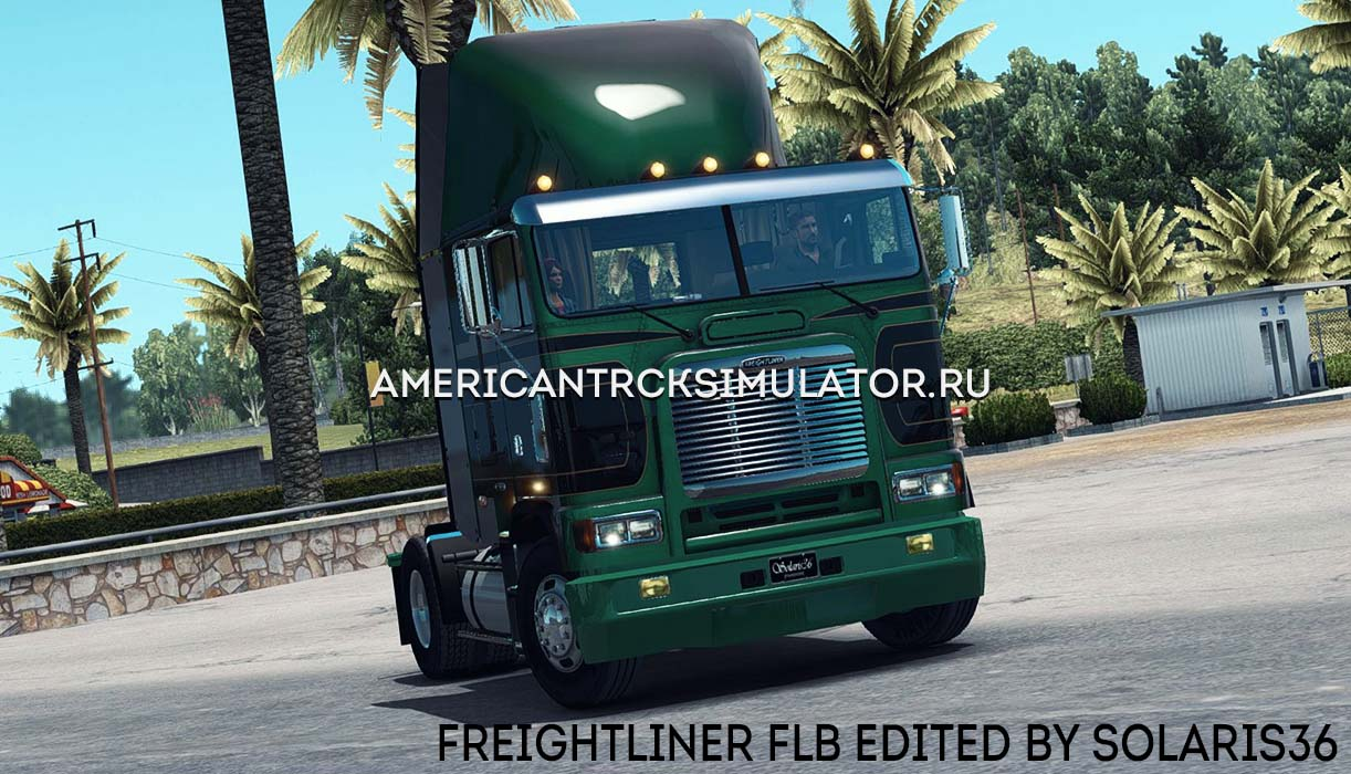 Freightliner FLB edited by Solaris...