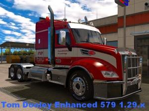 Мод Peterbilt Enhanced 579 для АТС