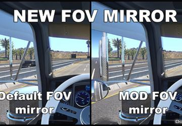 Мод New FOV Mirror для American Tr...