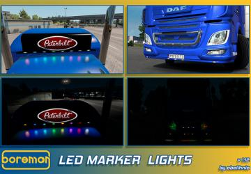 Мод Boreman LED Marker Lights Pack...