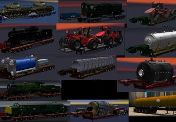 Прицепы Chris45 ATS Heavy Trailers...