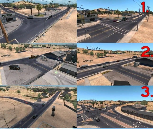 Карты Arizona Improvement Project ...