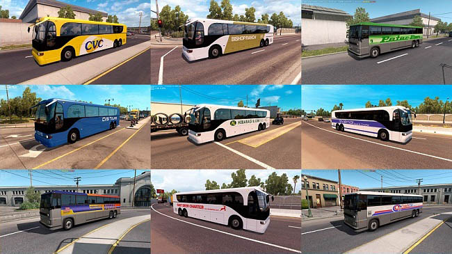 Мод Bus Traffic Pack